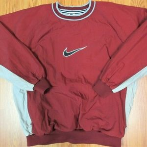 XL- VTG NIKE Mens WINDBREAKER JACKET COTTON LINED